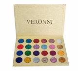 Los productos de maquillaje Color Eyeshadow OEM 24 Prensa Popular Glitter Eyeshadow Pulsa Palet
