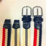 빨강과 백색 파란 길쌈된 벨트를 가진 고전적인 Bai 회색