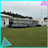 De Tanks van de Opslag van het Water van het roestvrij staal met Iso9001- Certificaat