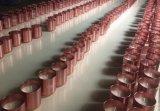 Kaars van het Tin van het Etiket van de luxe de Reizende door de Was van de Soja