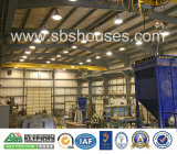 Almacén de la estructura de acero industrial