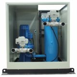 O PLC controla o sistema da limpeza da câmara de ar do condensador com a esfera da borracha do esmeril