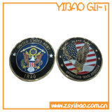 車輪のボーダー(YB-SM-89)が付いているカスタム亜鉛合金の硬貨または記念品の硬貨