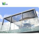 De Balustrade van het Glas van de pool, de Balustrade die van het Zwembad Aangemaakt Glas schermen