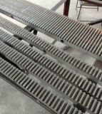 C45 en acier au carbone pignon mouvement linéaire