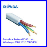 3 cabo elétrico flexível do sqmm do núcleo 16