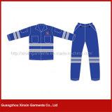 La coutume de construction en milieu de travail unisexe uniforme, de salopettes, vêtements de travail (W434)