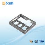 Kundenspezifische Präzision Aluminium-CNC-Maschinerie-Strahlen-Fräsmaschine-Teile