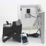 LED 태양 빛, 옥외 안전 투광램프, 방수 에너지 절약 RF