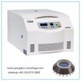 Td6e Laboratoire de basse vitesse centrifugeuse de paillasse