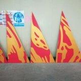 Perforiertes Aluminiummehrfarbenpanel für Wanda Piazza-Zwischenwand