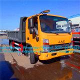 JAC 6tの砂のダンプトラックの前部上昇のダンプカートラック