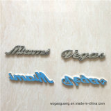 Autoadesivo di plastica della lettera dell'ABS della decorazione dell'automobile