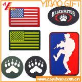 Design personalizado Patches de PVC fita mágica para acessórios de vestuário (YB-ST-001)