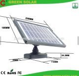 Super brillante proyector ultracompacto solar con 16 LED SMD
