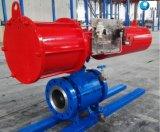 Arrêt d'urgence motorisé OEM actionneur pneumatique Vanne à boisseau sphérique