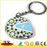 Kreative Metallsturzhelm-Schlüsselring-Sturzhelm-Schlüsselkette