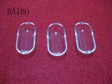 투명한 석영 유리 배