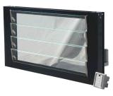 Automatischer Glasaluminiumluftschlitz Windows mit elektrischen justierbaren Luftschlitz-Schaufeln