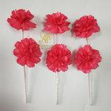 Настраиваемые вручную диаметр 6 см 2PCS/букет красных Canation сухого Сола цветы для дома пластинчатый диффузор