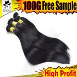 человеческие волосы ранга 8A навальных текстур волос