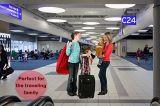 Ультра прочный мешок перемещения места малолитражного автомобиля для проверки строба авиапорта