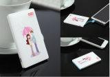 Menos 2.5USD Cartão de Crédito Slim Ultra fino 3000mAh banco de Potência