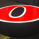 LED retroiluminada letras de canal publicidad letras