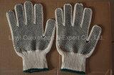 Горячие перчатки хлопка сбываний поставленные точки PVC с Ce