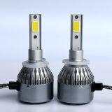 Farol dianteiro LED, farol de carro LED C6 880 881 COB, 8000lm, 72W, farol LED