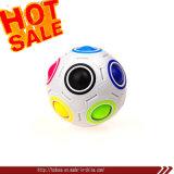 Rainbow Ball Magic Cube Fidget Toy Puzzle Bola de arco-íris Magnético