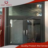 Aislamiento térmico de aleación de aluminio Casement Windows con cristal templado