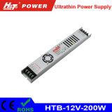 12V 16A 200W Signage Lâmpada de luzes de LED flexíveis Htb