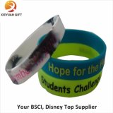 Wristband caldo del silicone di ginnastica di vendita per l'amante di sport