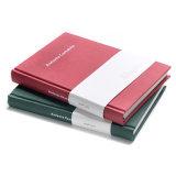 縫う結合PUの保険引受証の本の演習帳