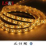 los 240LEDs/M 3528SMD impermeabilizan/Ce No-Impermeable RoHS de la luz de tira del LED aprobado