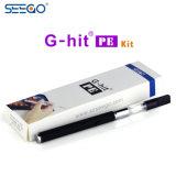 Seego G-Golpeó emparejamiento del cigarrillo del kit PE2 el mejor E con el cartucho de 3 tallas