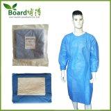 Vestido cirúrgico, blocos da torre com embalagem do saco de papel, esterilização do Eo