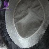1b#自然な波状の人間のRemyの毛のToupee (TP16)