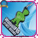 Neuer Entwurfs-Plastikschlüsselring für Belüftung-Schlüsselketten-Geschenk