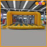 Juego inflable de interior de la blanco de la meta del balompié/del fútbol para la familia (AQ1827)