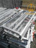 Industrieller Baugerüst-Ineinander greifen-Planke-Weg-Vorstand mit Haken
