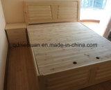 高品質(M-X2337)の固体木のベッドの現代ベッド