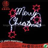 Lumière extérieure de motif de rue de Noël de lucette de 3m DEL pour la décoration
