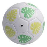 Monstera Ceriman 잎 디자인 기계에 의하여 바느질되는 축구 공 5#