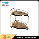 2つの層のステンレス鋼の食堂車/台所トロリー