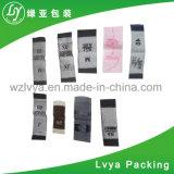 Corte láser etiquetas tejidas