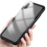 柔らかい端のiPhone Xのためのアクリルの電話箱8 8プラスの堅いケース