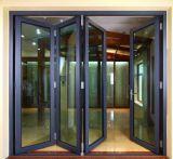 Alluminio di vetro Windows scorrevole di profilo Au/Nz2047 della glassa di alluminio standard australiana del doppio e portello