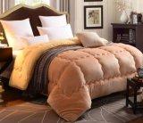 Del velluto Duvet alternativo della trapunta del Comforter di Sherpa della rappezzatura giù